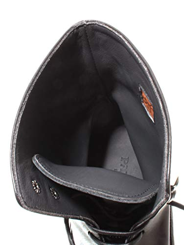 Italy Nero Calvador PANTANETTI Dainite Scarpe Boots Black 698 Uomo Pelle 11922G 4Xv4q