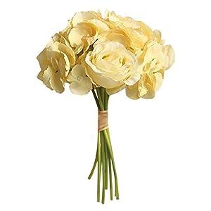 AGUIguo Simulation Rose Flowers Holding Artificial Flower Home Decor Flower Wedding Party Bouquet 117
