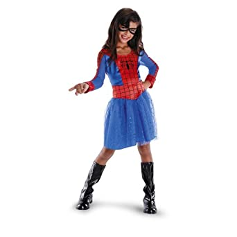 spider girl classic - Spider Girl Halloween Costumes