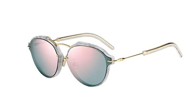7d939b60f9e Image Unavailable. Image not available for. Color  New Christian Dior Eclat  s OGBZ OJ White Marble Grey Rose Sunglasses