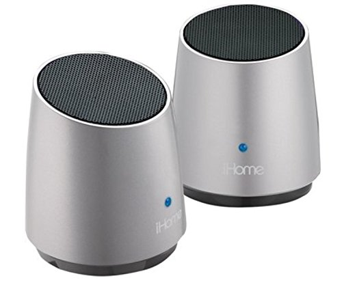 iHome iHM89SC Mini Stereo Speaker Grey
