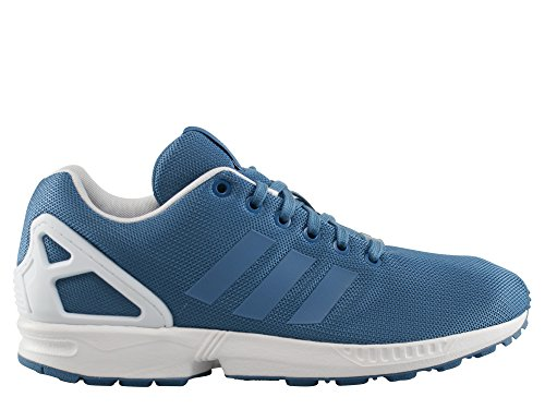 Adidas - ZX Flux - Color: Azzuro-Bianco - Size: 46.0
