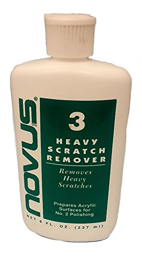 Plastics America Novus 3 Heavy Scratch Remover, 8oz - Out Scratches Of Plastic Buffing