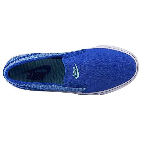 Turquoise Bleu Toki Chaussures Bleu Racing Femme Racing Hyper Sport Bleu WMNS Slip Nike Canvas de Blanc 58Bwqf66Sn