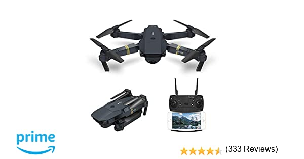 Drone With Camera Live Video, EACHINE E58 WIFI FPV Quadcopter With 120°  Wide-angle720P HD Camera Altitude Hold Mode Foldable APP Control Pocket  Drone