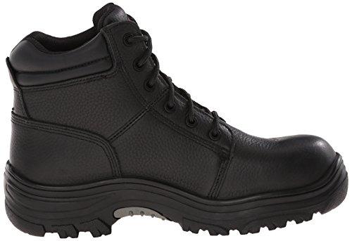 Skechers para el trabajo 77067 Burgin Comp arranque del dedo del pie Trabajo Black