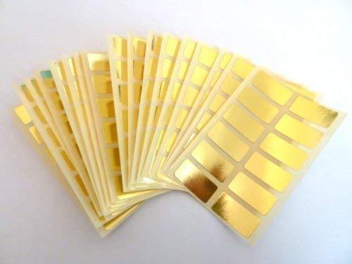 EasyTime UK ™ 200 Labels 25mm x 12mm Rectangle White Colour