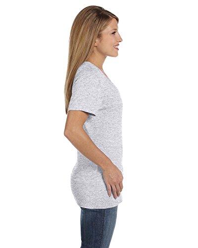 Hanes-Womens-Nano-T-V-Neck-T-Shirt