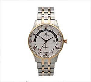 Arminy Watch For Men - Analog Stainless Steel Band - AR10189GTRW