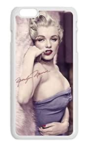Alexgeorge Marilyn Monroe Custom Phone Case Cover For Apple Iphone 6 Plus(5.5 inch)