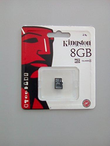 Kingston 8 GB Class 4 Micro SDHC Memory Card