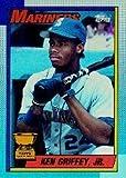 1990 Topps Baseball Card IN SCREWDOWN CASE #336 Ken Griffey Jr. Mint
