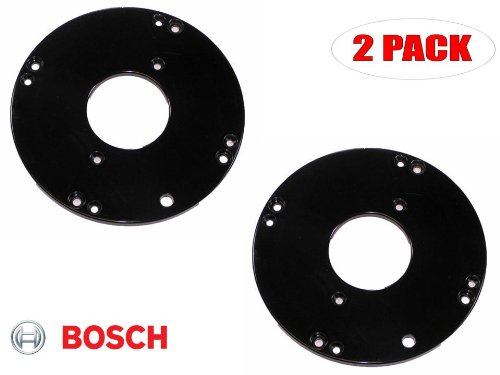Bosch 1617 Router Replacement Sub Base # 2610928164 (2 PACK)