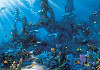 Shindigz Underwater Escape Mural