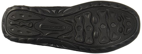 Skechers Donna Reggae Fest-stitch Up Mocassino Nero