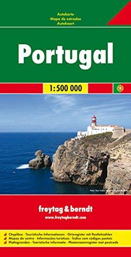 Freytag Berndt Autokarten, Portugal - Maßstab 1:500 000