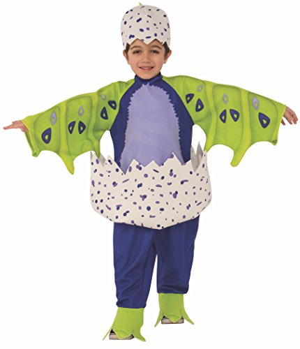 Rubie's Costume Hatchimals Child's Just-Hatched Draggles Costume, Dark Purple, (Big Bird Feet Costume)