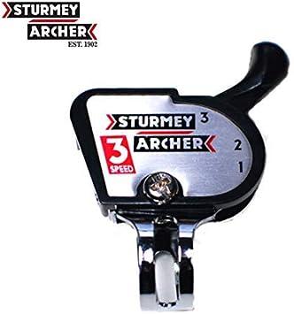 Sturmey Archer Klickschalter Palanca de Cambios 3-velocidades Circuito de Bicicleta - 01080206: Amazon.es: Bricolaje y herramientas