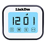 Kitchen Timer, Countdown and Count Up Cooking Digital Timer Touch...