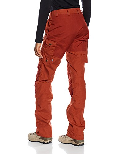 Barents llr Trousers Donna Fj ven Red Deep Pantaloni Pro fEdqBqw