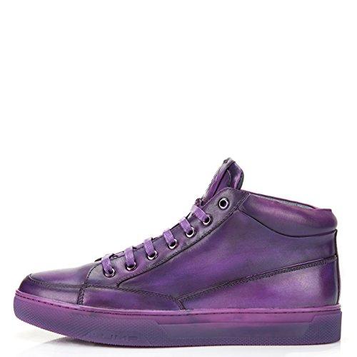 Hoppe Newyork Menns Strickland Mid-topp Mote Sneaker Lilla
