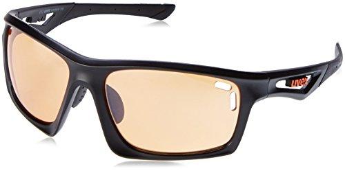 Uvex Sportstyle 700 Sunglasses Matte Black/Lite Mirror Or...