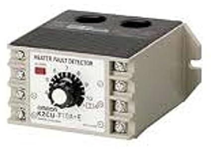 Omron k2cu-f20 a-d calentador elemento detector de Burnout, 110 VAC suministro, 8 A 20 A corriente de funcionamiento: Amazon.es: Amazon.es