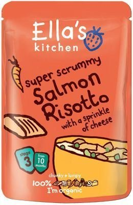(8 PACK) - Ellas/K Salmon Risotto - Stage 3  190 x 7 gx  8 PACK - SUPER SAVER - SAVE MONEY