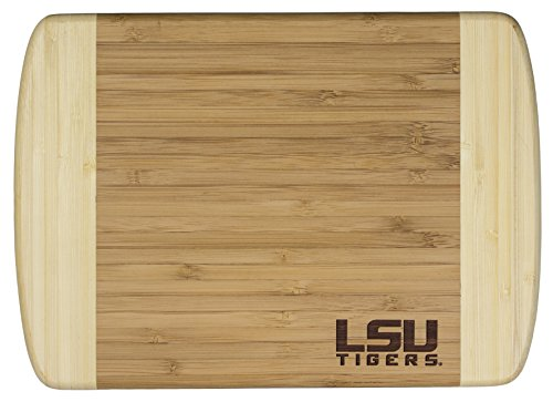 - Totally Bamboo Hana Cutting and Serving Board, Laser Etched with Louisiana State University Logo, 10