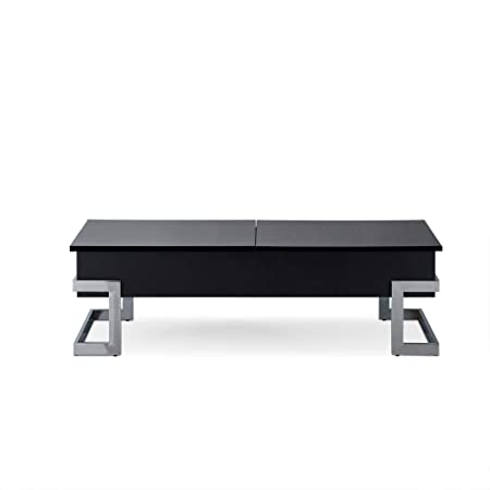 Major-Q Convertible Lift Top and Sliding Top Coffee Table In Gloss Black MQ-81855