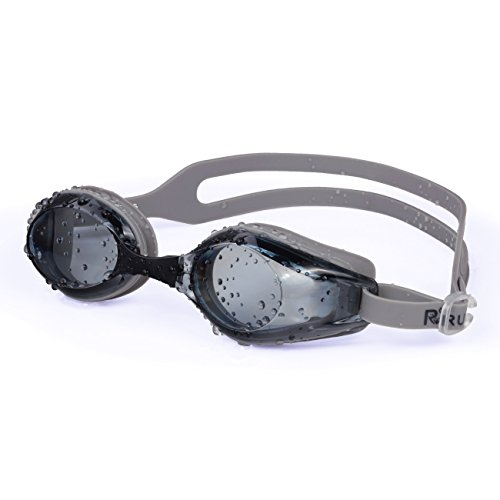 FiveBox Adult Waterproof Anti-fog Uv Protection Swim Goggles for Men Women,Watertight Swimming...