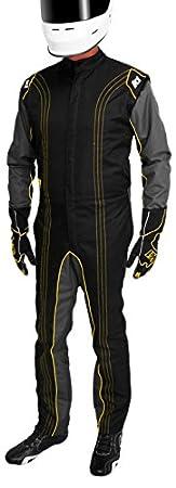 K1 Race Gear CIK//FIA Level 2 Approved Kart Racing Suit Orange, XXX-Large