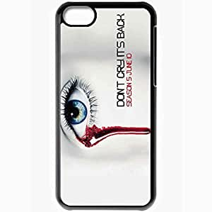Personalized iPhone 5C Cell phone Case/Cover Skin Movie TRUE Blood Season 6 Case 4921 Black