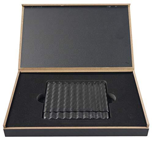 Visol Dark Night Carbon Fiber Cigarette Case - Holds 10 Regular/King Cigarettes by Visol (Image #2)