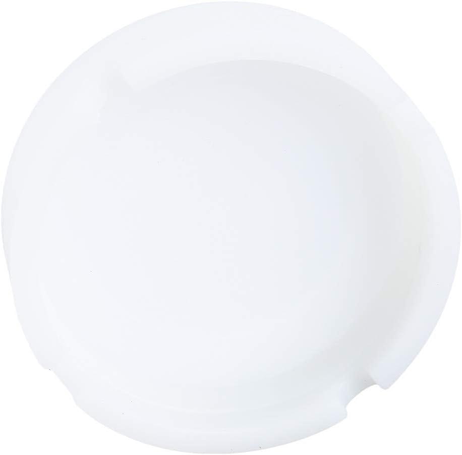 FUNSS Leuchtender Silikon-Aschenbecher Mehrfarben-Hochtemperatur-Hitzebest/ändiger runder Aschenbecher,Leuchtendes Gr/ün
