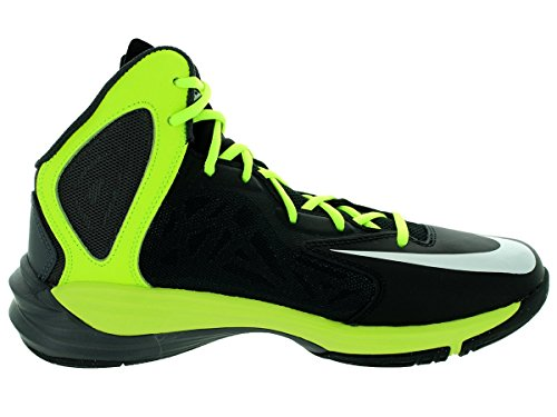 Nike Mens Prime Hype Df Basketbalschoen Zwart / Wit / Antraciet / Volt
