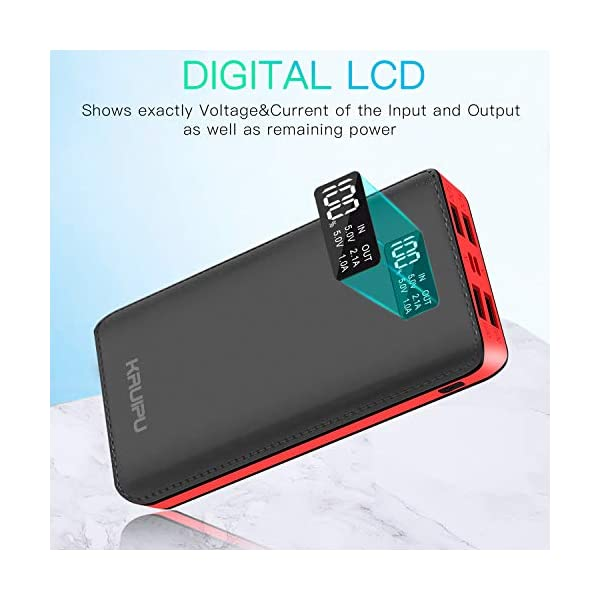 Power-Bank-24000mAh-Portable-Charger-Battery-Pack-4-Output-Ports-Huge-Capacity-Backup-Battery-Compatible-Android-Phone-and-Other-Smart-Phone