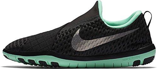 Fitness Glow Scarpe Nero Donna Nike Silver 003 843966 Da Black Green 7Ogw7r