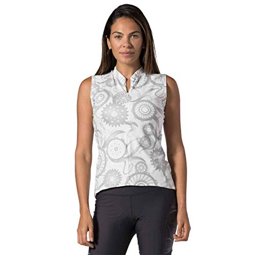Terry Soleil Sleeveless Jersey Cycling Top for Women - Lightweight Ladies Bicycle  Jersey with UPF 50+ Sun Protection 019674eb3
