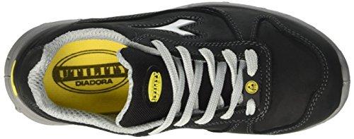 Diadora Run Esd Low S3, Zapatos de Trabajo Unisex Adulto Negro (Nero)