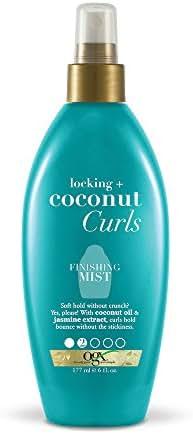 OGX Locking + Coconut Curls Finishing Mist, 6 Ounce