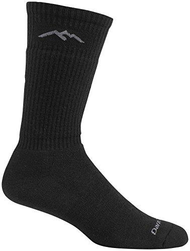 Darn Tough Standard Issue Mid-Calf Cushion Socks - Men's Black Medium