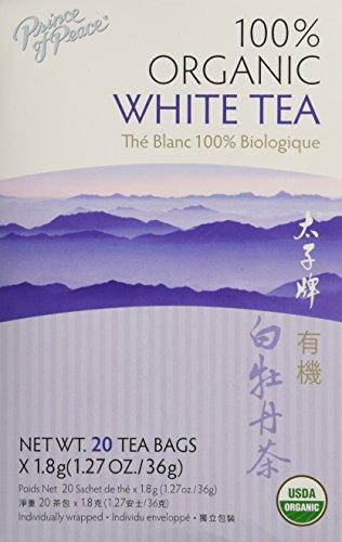 Prince of Peace Organic White Peony Tea 20 Tea Bags ()
