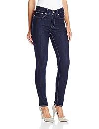pantalón de jean ajustado, para mujer.