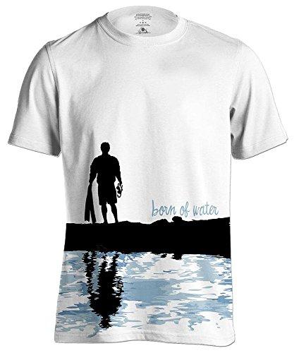 Scuba Diving Shirt: Diver Silhouette : Freedive | Scuba Dive | Spearfishing - XL - Diver Silhouette