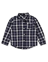 French Toast Baby Boys' L/S Button-Down Shirt