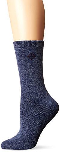 en's Salt Wash Crew, Navy, Shoe 5-10 (Sock Size 9-11) ()