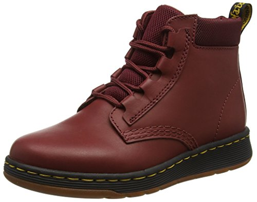 Dr. Martens Telkes Cherry Red Temperley+Sports Space, Stivali Donna Rosso (Cherry Red)