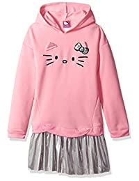 Hello Kitty girls Fleece Active Set With Sequin Applique