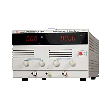 XIAOF-FEN High Precision DC Power Supply 5A High Power Switching Power Supply MCH-K1205D Maintenance Aging Test Home Improvement Electrical